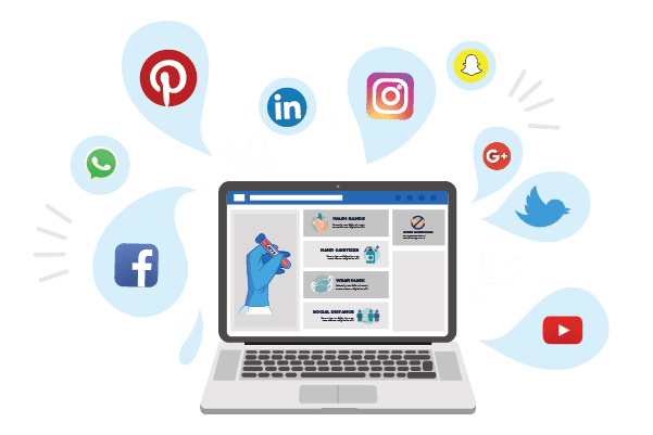 Safekeeping strategies of social media marketing services during COVID-19